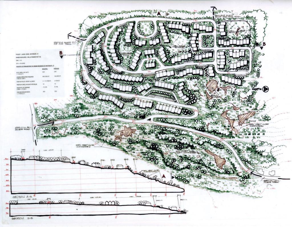 Proposed Site Plan Waterbury (Master Planning)