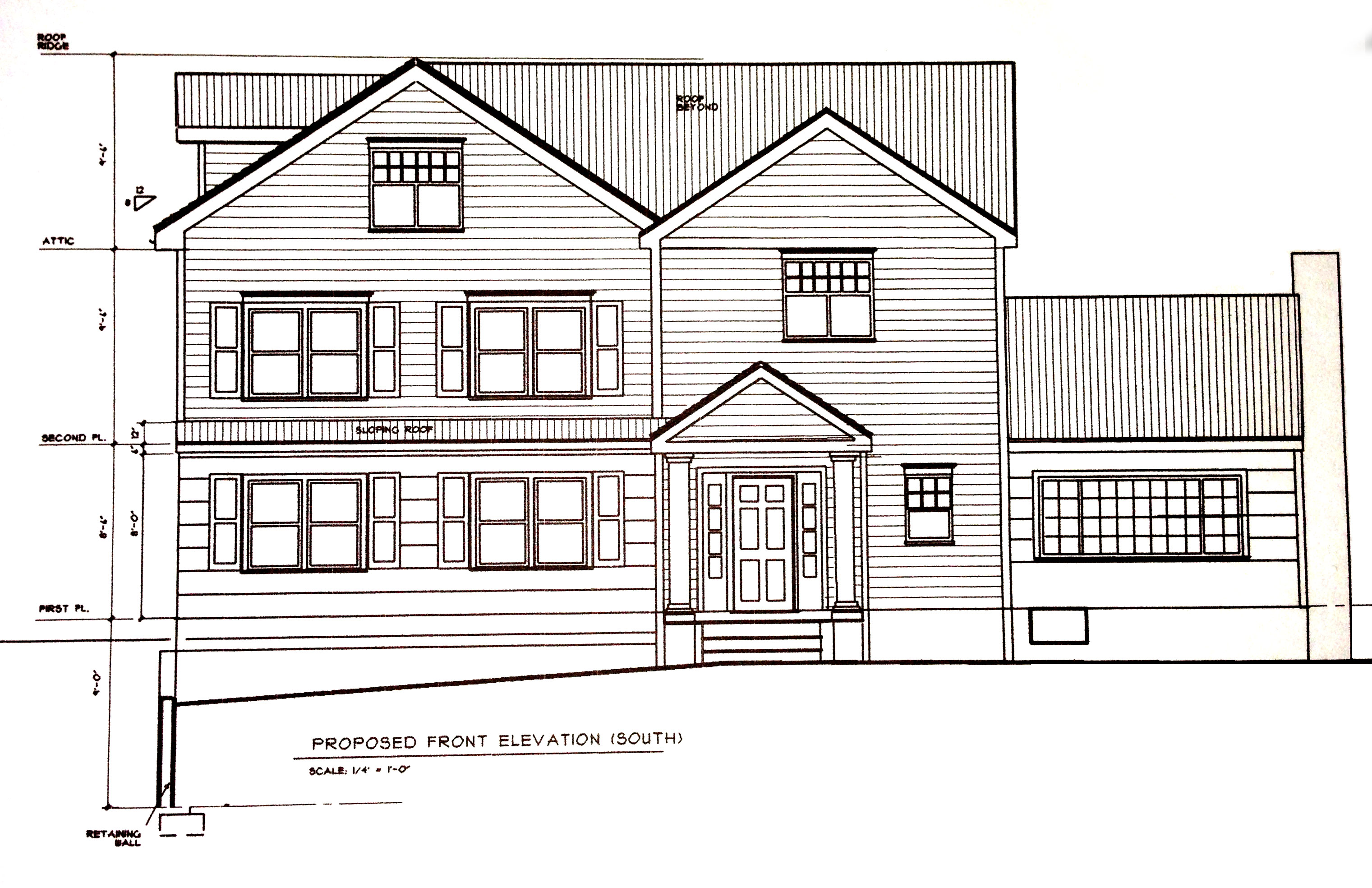 Residential architectural drawings for Architectural drawings of houses
